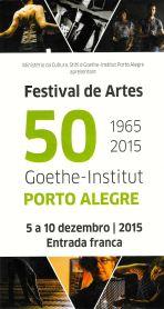 Festival de ARtes 50 anos Goethe-Institut